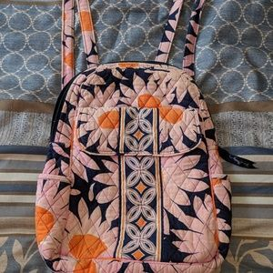 Vera Bradley small backpack/ppl purse